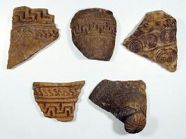 Gruppo di frammenti ceramici
