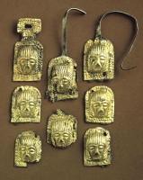 Placchette di argento dorato