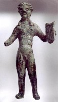 Statuette of Apollo with lyre