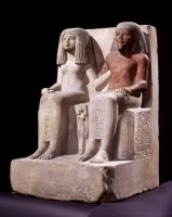 Coppia statuaria di Amenhotep e Merit