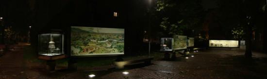 cirenaica panoramica notturna