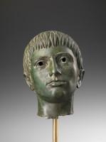 Testa di giovane da Fiesole, FirenzeMuseo Archeologico Nazionale, Polo Museale della Toscana