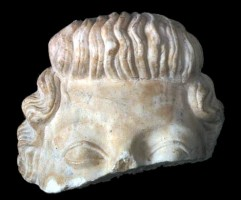 Head-portrait of Octavia or Livia