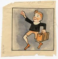 Illustrazione per pubblicazione per ragazzi, s.d., inchiostro su carta,