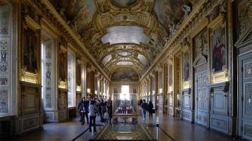 La galerie d'Apollon du Louvre - Paris. Foto Wikipedia.