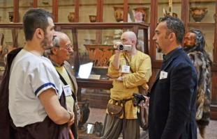 Telecamera in sala Etrusca