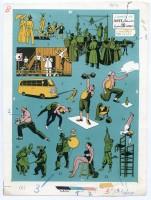Tavola illustrata per l'opera Storia del Circo