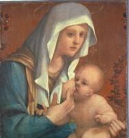 Amico Aspertini, Madonna che allatta il Bambino, deposito dall'Istituto Giovanni XIII, 1983, Collezioni Comunali d'Arte