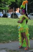 La parata: i personaggi - la Ballerina Brasiliana