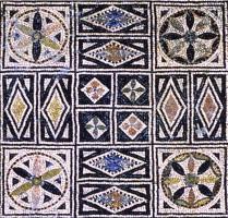 Mosaico della Beverara (particolare)