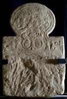 Stele in arenaria da Ca' Selvatica (Crespellano, BO). 640-620 a.C.