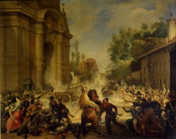 La cacciata degli austriaci da Bologna l'8 agosto 1848