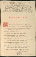 «Cronaca Bizantina», 15 giugno 1881, n. 1