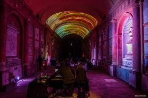 Certosa di Bologna, estate 2020. Memori e Basmati, SOUND AND SILENCE II. Foto Alberto Alvisi.