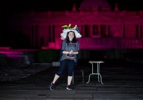 Certosa di Bologna, estate 2020. Istantanea teatro, 'Bologna nel Lungo Ottocento | Risorgimento, costume, società'. Foto Michele Brusa.