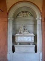 Cimitero della Certosa, Chiostro Maggiore, Monumento funerario di Olimpia Spada, 1821 ca.