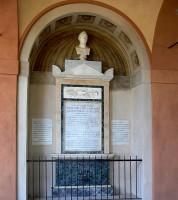 Cimitero della Certosa, Chiostro Maggiore, Monumento funerario a Pellegrino Tomasoli, 1818 ca.