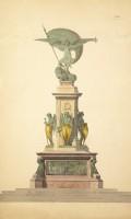 Cincinnato Baruzzi, Progetto per monumento civile allegorico