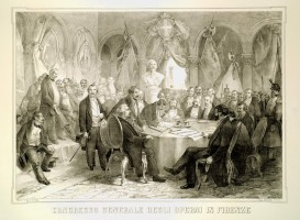 Congresso generale degli operai in Firenze