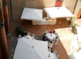 Il cortile del Museo Civico Medievale