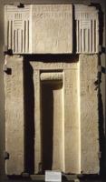 """Stele funeraria del tipo """"a falsa porta"""" a nome di Sameri"""
