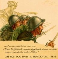 Parole e musica dell'Italia in guerra