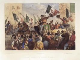 Entrata trionfale di Garibaldi in Napoli