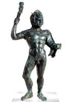 Statuetta di bronzo raffigurante Eracle