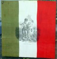 Fazzoletto celebrativo dell'alleanza franco-piemontese