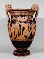 Attic red-figure volute krater