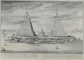 Fischer_piramidi e mausoleo del faraone Moeris e di sua moglie