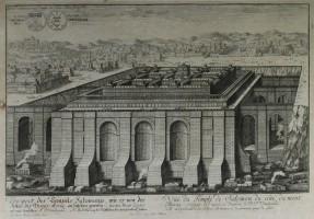 Fischer_Veduta del tempio di Salomone e del Monte Moriah