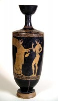 Attic red-figure lekythos