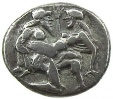 Didracma in argento di Thasos