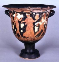 Campanian red-figure bell krater