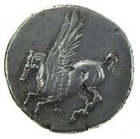 Statere in argento di Corinto