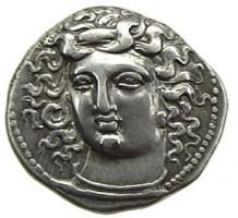 Dracma in argento di Larissa
