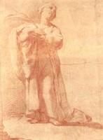 Ubaldo Gandolfi, La Santa Costanza martire, dono di Hatù-Ico Commerciale s.p.a., 1997, incontri & arrivi 5, Collezioni Comunali d'Arte