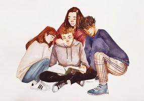 Gdl adolescenti disegno di Arianna Barrella