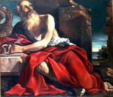 Lorenzo Gennari, San Giovanni Evangelista, dono di Mario Massaccesi, 1981, Collezioni Comunali d'Arte