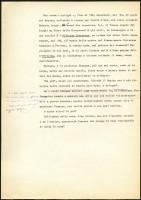 Giorgio Bassani, Il Giardino dei Finzi Contini, dattiloscritto