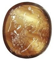 Corniola con ritratto di Commodo come Ercole