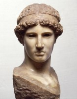 Head of Athena (Roman marble copy)