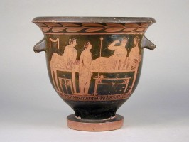 Red figure attic Bell-krater (450-425 BC)