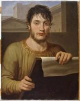 Ritratto di Giuseppe Guizzardi in veste d'antico, 1807
