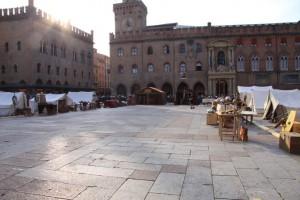 l'accampamento romano in Piazza Maggiore