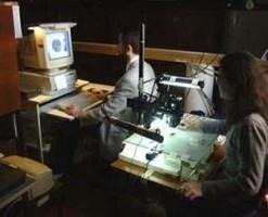 Il laboratorio di acquisizione digitale delle immagini