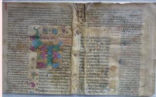 La più antica stampa tipografica conservata in Archiginnasio
