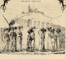 Una visita che costerà un giorno a S.M. Vittorio Emanuele II