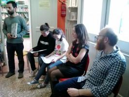 Incontro con Silvia Vecchini e Sualzo Fiato sospeso 20 aprile 2013